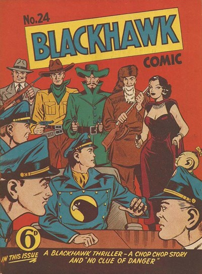 Blackhawk Comic (Youngs, 1948 series) #24 ([May 1951?])