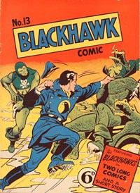 Blackhawk Comic (Youngs, 1948 series) #13 — No title recorded (Cover)