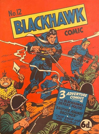 Blackhawk Comic (Youngs, 1948 series) #12 ([May 1950?])
