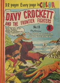 Davy Crockett and the Frontier Fighters (Colour Comics, 1955 series) #13 ([November 1956?])