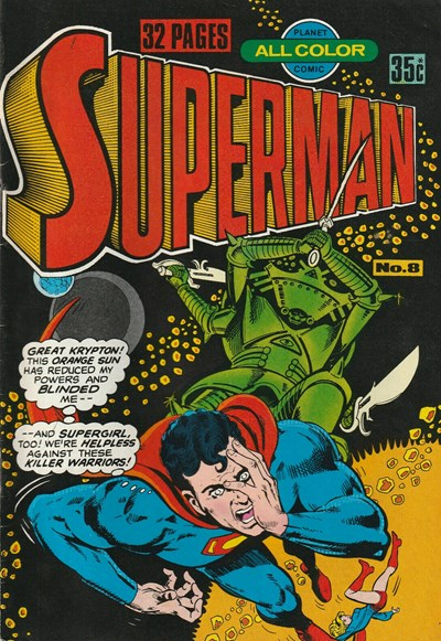 Superman (Murray, 1978 series) #8 ([September 1978?])