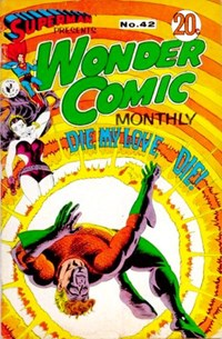 Superman Presents Wonder Comic Monthly (Colour Comics, 1965 series) #42 ([October 1968?])