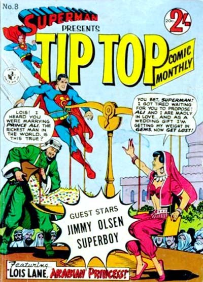 Superman Presents Tip Top Comic Monthly (Colour Comics, 1965 series) #8 ([December 1965?])