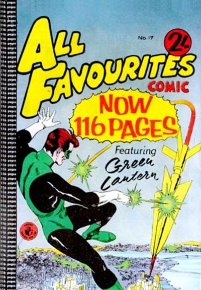 All Favourites Comic (Colour Comics, 1960 series) #17 ([March 1960?])