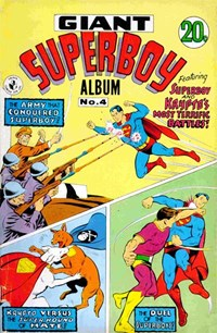 Giant Superboy Album (Colour Comics, 1965 series) #4 — Superboy and Krypto's Most Terrific Battles