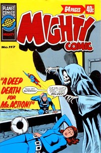 Mighty Comic (KG Murray, 1973 series) #117 — A Deep Death for Mr Action