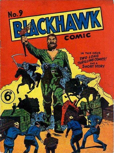Blackhawk Comic (Youngs, 1948 series) #9 ([February 1950?])