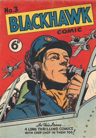 Blackhawk Comic (Youngs, 1948 series) #3 ([August 1949?])