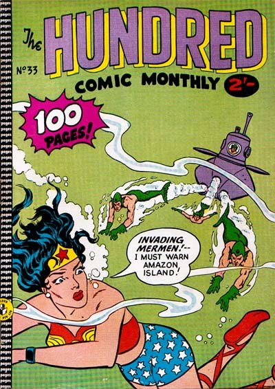 The Hundred Comic Monthly (Colour Comics, 1956 series) #33 ([June 1959?])