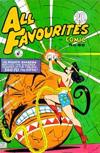 All Favourites Comic (Colour Comics, 1960 series) #60 — No title recorded