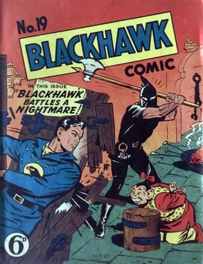 Blackhawk Comic (Youngs, 1948 series) #19 ([June 1950?])