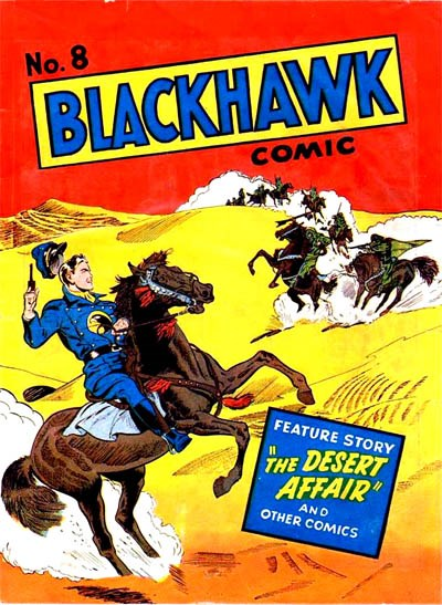 Blackhawk Comic (Youngs, 1948 series) #8 ([July 1949?])
