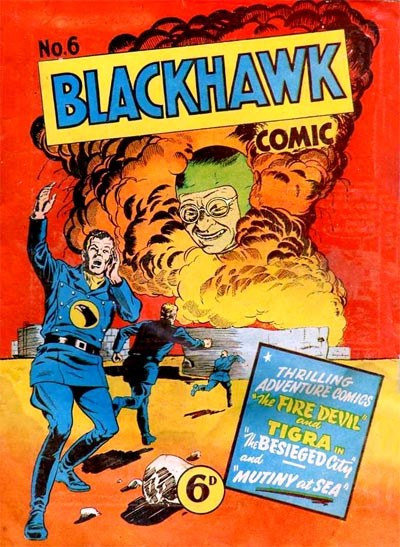 Blackhawk Comic (Youngs, 1948 series) #6 ([November 1949?])