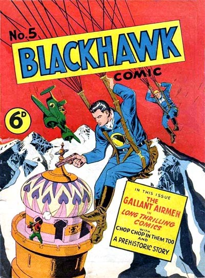 Blackhawk Comic (Youngs, 1948 series) #5 ([October 1949?])