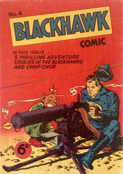 Blackhawk Comic (Youngs, 1948 series) #4 ([September 1949?])