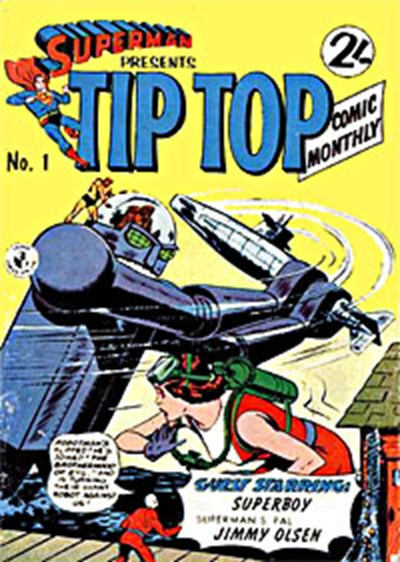 Superman Presents Tip Top Comic Monthly (Colour Comics, 1965 series) #1 ([May 1965?])