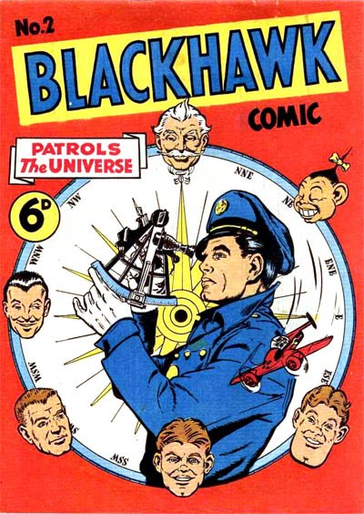 Blackhawk Comic (Youngs, 1948 series) #2 ([July 1949?])