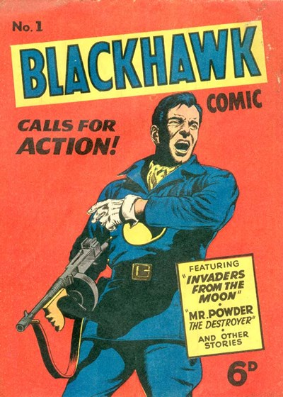 Blackhawk Comic (Youngs, 1948 series) #1 ([June 1949?])