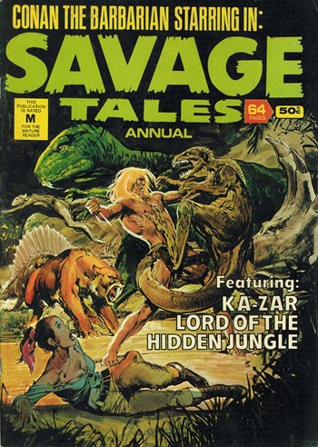 Savage Tales Annual (KG Murray, 1978? series) #16 ([1978?])