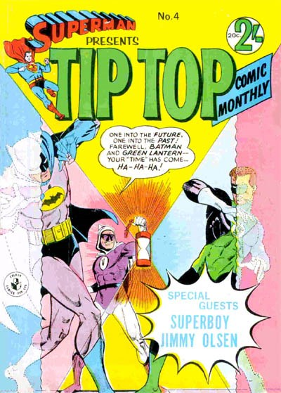 Superman Presents Tip Top Comic Monthly (Colour Comics, 1965 series) #4 ([August 1965?])