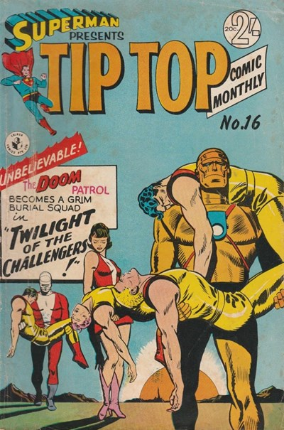 Superman Presents Tip Top Comic Monthly (Colour Comics, 1965 series) #16 ([August 1966])