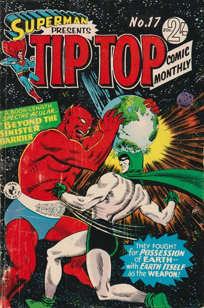 Superman Presents Tip Top Comic Monthly (Colour Comics, 1965 series) #17 ([September 1966?])