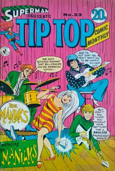 Superman Presents Tip Top Comic Monthly (Colour Comics, 1965 series) #33 ([January 1968?])