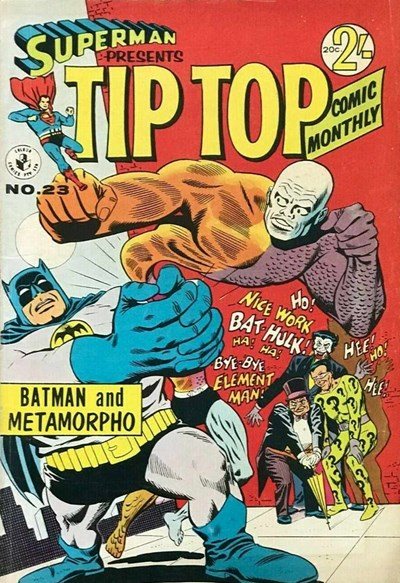Superman Presents Tip Top Comic Monthly (Colour Comics, 1965 series) #23 ([March 1967])