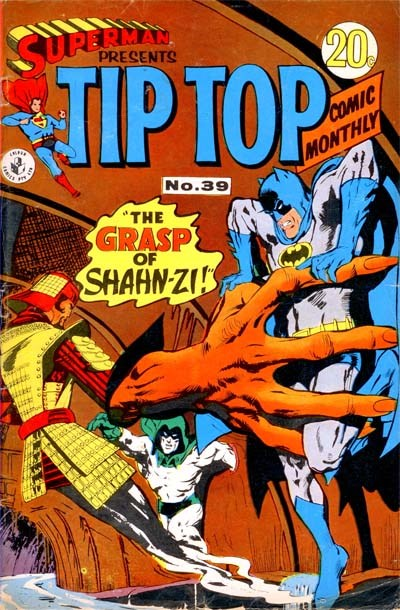 Superman Presents Tip Top Comic Monthly (Colour Comics, 1965 series) #39 ([July 1968?])