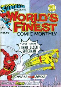 Superman Presents World's Finest Comic Monthly (Colour Comics, 1965 series) #10 ([February 1966?])