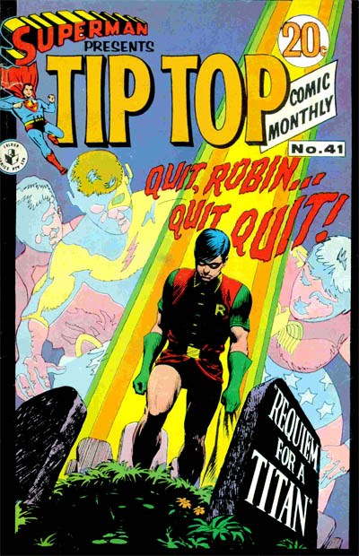 Superman Presents Tip Top Comic Monthly (Colour Comics, 1965 series) #41 ([September 1968?])