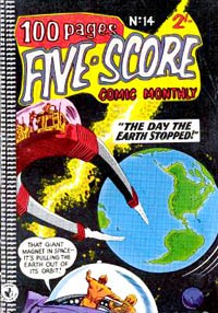 Five-Score Comic Monthly (Colour Comics, 1958 series) #14 — No title recorded