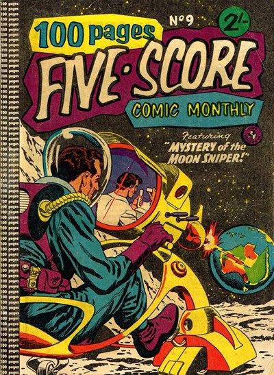 Five-Score Comic Monthly (Colour Comics, 1958 series) #9 ([January 1959?])