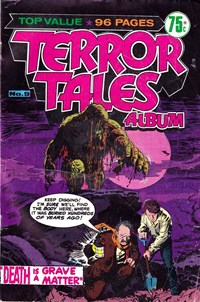 Terror Tales Album (Murray, 1978 series) #9 — Death is a Grave Matter