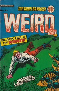 Weird Mystery Tales (Murray, 1977 series) #41 — No title recorded