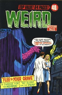 Weird Mystery Tales (KG Murray, 1973? series) #24 — Flee to Your Grave