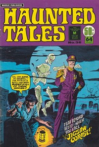 Haunted Tales (Murray, 1977 series) #36 — The Jigsaw Corpse