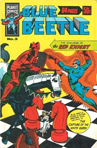 Blue Beetle (KGM, 1978 series) #3 — The Red Knight (Cover)