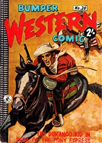 Bumper Western Comic (Colour Comics, 1959 series) #20 — Peril of the Pony Express