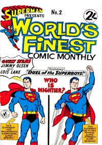 Superman Presents World's Finest Comic Monthly (Colour Comics, 1965 series) #2 ([June 1965?])