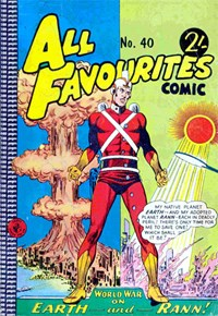 All Favourites Comic (Colour Comics, 1960 series) #40 — No title recorded