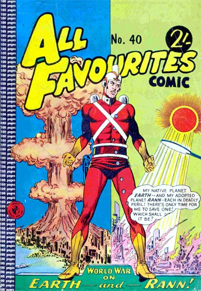 All Favourites Comic (Colour Comics, 1960 series) #40 ([December 1963?])