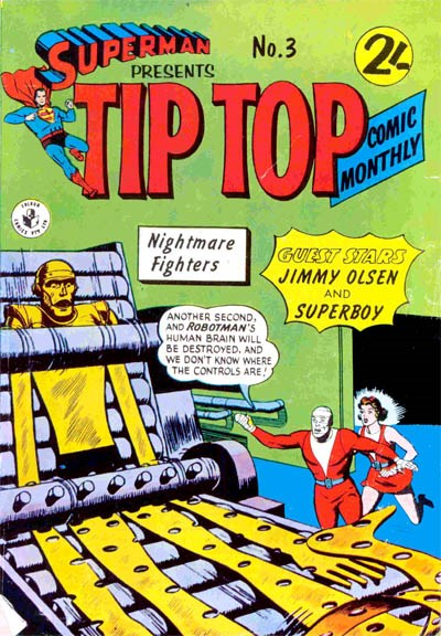 Superman Presents Tip Top Comic Monthly (Colour Comics, 1965 series) #3 ([July 1965?])