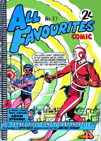 All Favourites Comic (Colour Comics, 1960 series) #37 ([June 1963?])