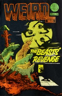 Weird Mystery Tales (KG Murray, 1973? series) #9 — The Beasts' Revenge