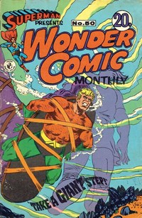 Superman Presents Wonder Comic Monthly (Colour Comics, 1965 series) #50 — Take a Giant Step!