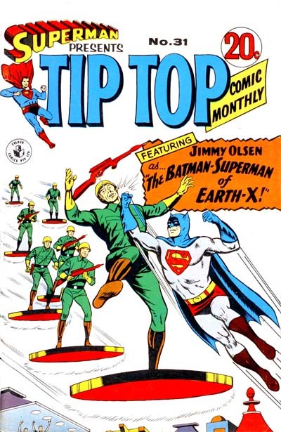 Superman Presents Tip Top Comic Monthly (Colour Comics, 1965 series) #31 ([November 1967?])