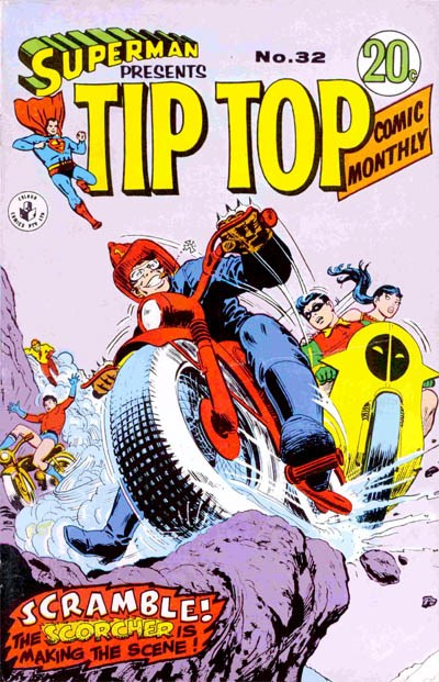 Superman Presents Tip Top Comic Monthly (Colour Comics, 1965 series) #32 ([December 1967?])