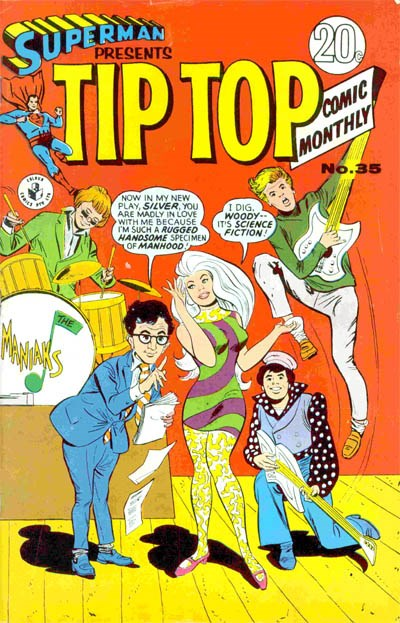 Superman Presents Tip Top Comic Monthly (Colour Comics, 1965 series) #35 ([March 1968?])
