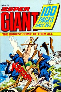 Super Giant (Sport Magazine, 1973 series) #5 ([September 1973?])